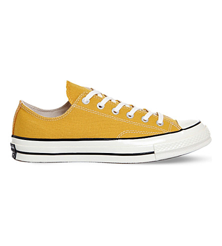 CONVERSE All-Star Ox '70 canvas trainers (Sunflower black