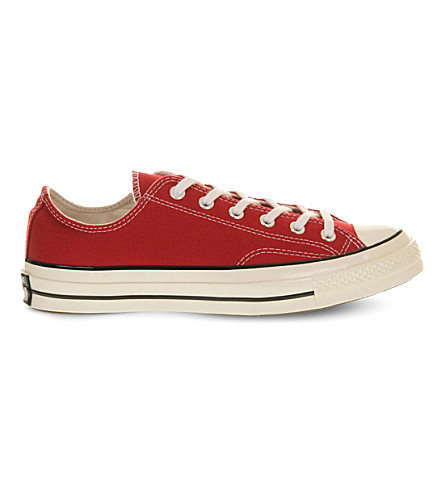 CONVERSE All-Star Ox '70 canvas low-top trainers (Crimson