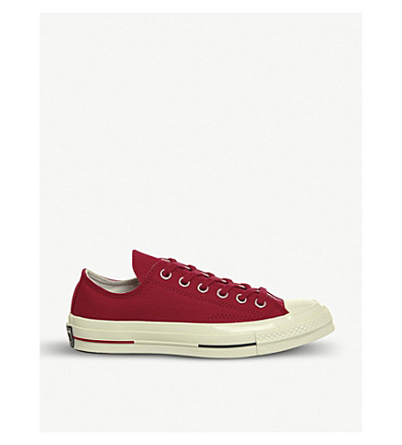 CONVERSE All Star Ox 70's suede low-top trainers (Gym+red+navy