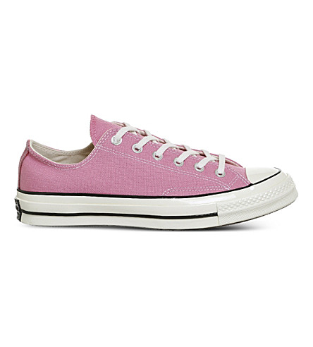 CONVERSE All Star Ox '70 canvas low-top trainers (Chateau+rose