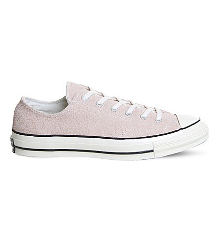 CONVERSE All-Star Ox '70 suede low-top trainers (Dust+pink+suede