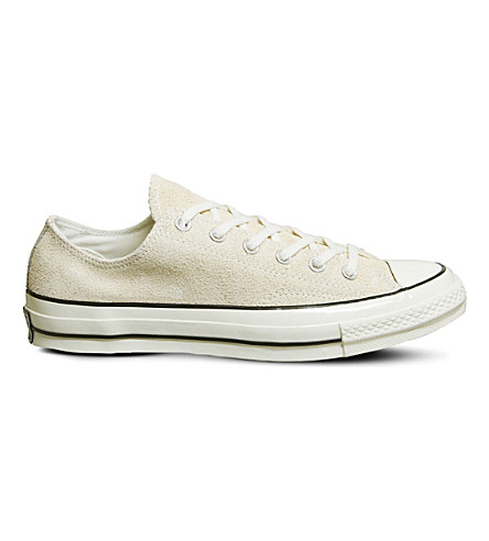 CONVERSE All Star Ox 70's suede low-top trainers (Light+twine