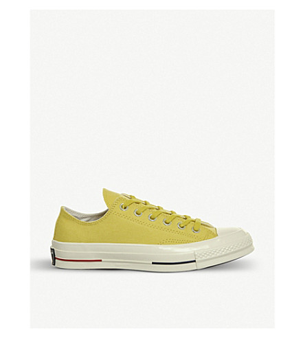 CONVERSE All Star Ox 70's canvas low-top trainers (Desert+gold+navy+red