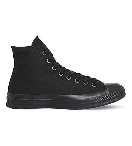 CONVERSE All Star 70 high-top canvas trainers (Black+mono