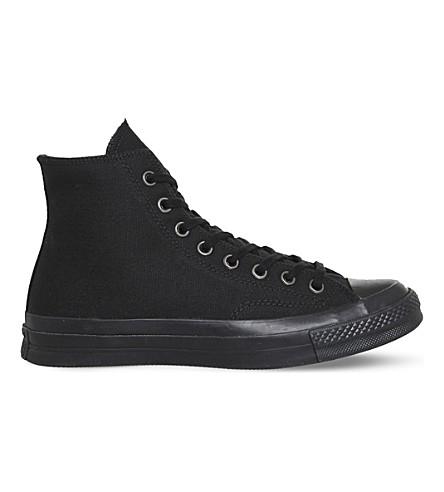 CONVERSE All Star 70 high-top canvas sneakers (Black+mono