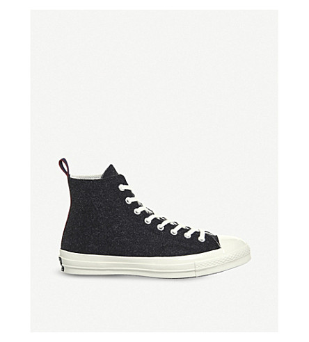 CONVERSE All Star 70s high-top trainers (Black+egret+loop
