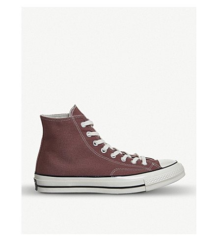 CONVERSE All Star 70s high-top canvas trainers (Saddle+black+egret