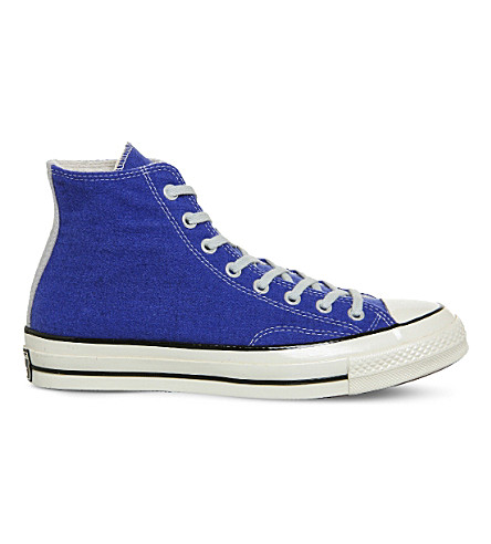 CONVERSE All Star high-top canvas trainers (Amparo blue egret