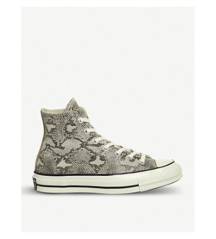 CONVERSE All Star 70s high-top trainers (Tan+snake