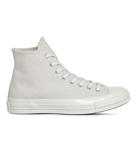 CONVERSE All Star '70 canvas high-tops (Natural+parchment