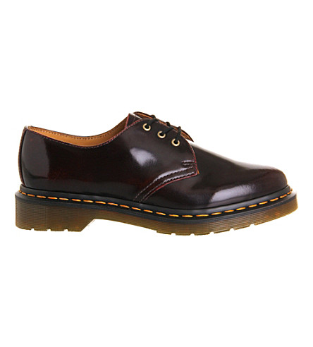DR. MARTENS 1416 leather shoes (Cherry+red+arcadia