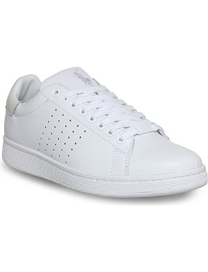 RALPH LAUREN Wilton leather trainers
