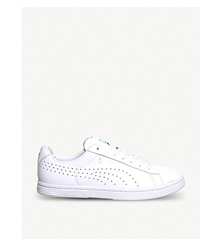 PUMA Court Star leather trainers (Nm white leather