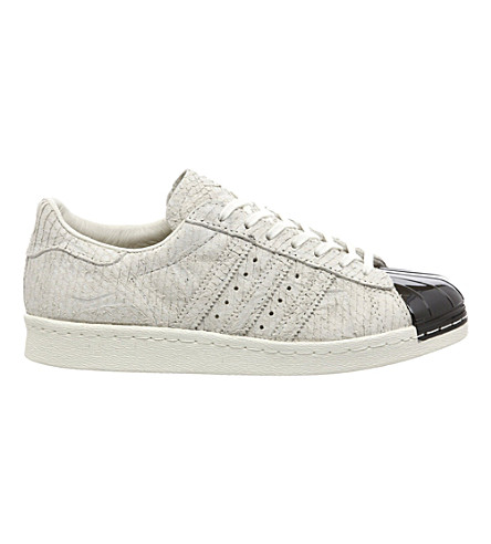 ADIDAS Superstar 80's metal-toe trainers (Off white