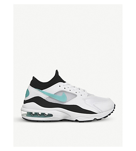 NIKE Air Max 93 trainers (White+turquoise+f