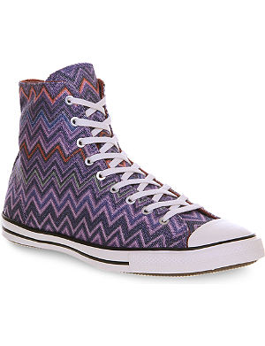 CONVERSE Missoni Fancy hi top trainers