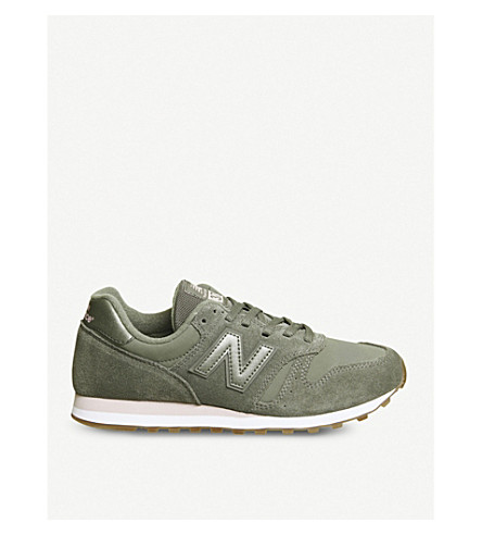 W373 suede sneakers