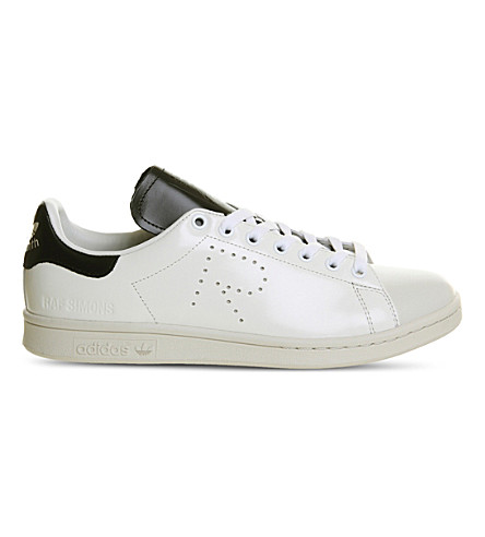 ADIDAS X RAF SIMONS Raf x Stan Smith leather trainers (White+black+talc