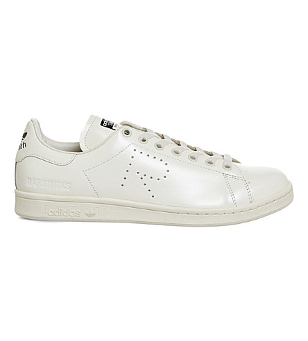 ADIDAS X RAF SIMONS Raf x Stan Smith CF leather trainers (Cream+white