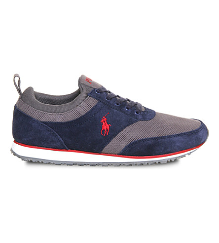 POLO RALPH LAUREN Ponteland trainers (Navy+charcoal