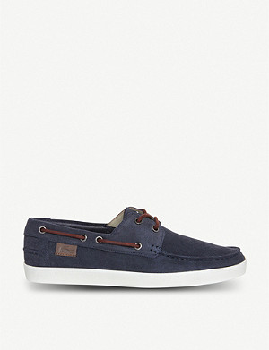 LACOSTE Keellson suede boat shoes