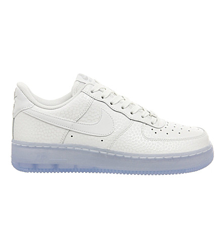 NIKE Air force 1 '07 leather trainers (White