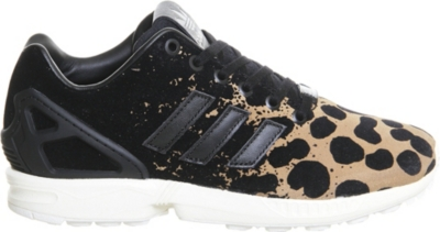adidas zx flux torsion leopard print animal womens trainers nz