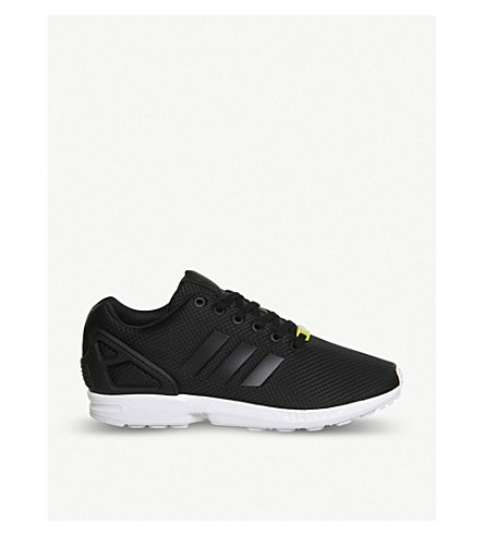 ADIDAS ZX Flux trainers (Black+white