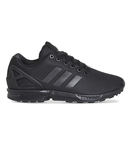 ADIDAS ZX flux trainers (Black/black/black