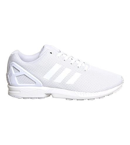 ADIDAS ZX Flux trainers (White mono