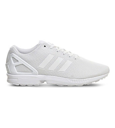 ADIDAS ZX Flux trainers (Triple+white