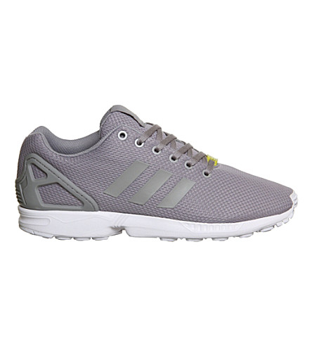 ADIDAS ZX Flux trainers (Grey+white