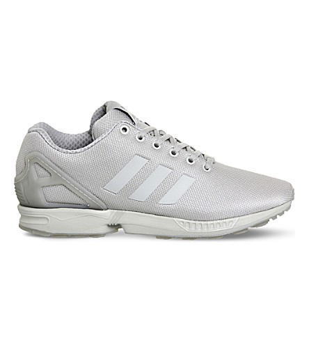 ADIDAS ZX Flux trainers (Solid grey