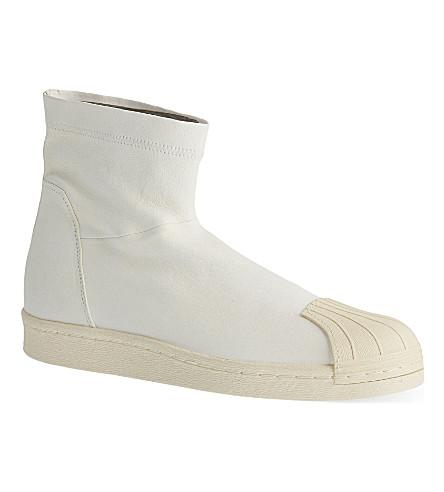 Adidas Rick Owens X Adidas Superstar Ankle Boots Selfridges Com