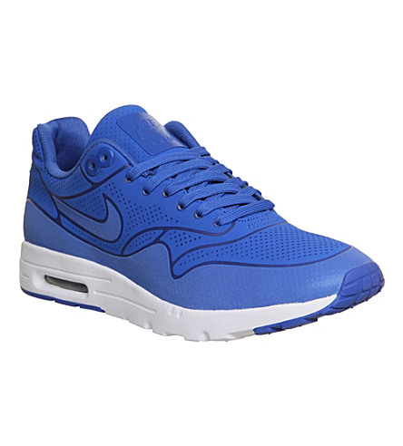 NIKE Air max 1 ultra moire trainers (Game royal white