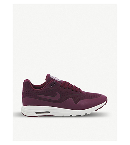 info for d6573 f2f7f NIKE Air Max 1 Ultra Moire trainers (Mulberry+purple