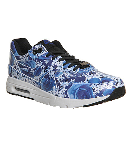 NIKE Air max 1 Tokyo city collection trainers (Blue floral tokyo