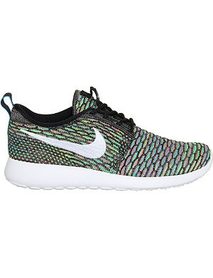 NIKE Roshe run flyknit trainers