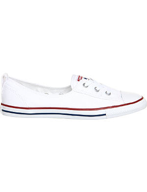 CONVERSE Ctas lace-up ballet flat trainers
