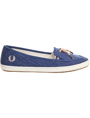FRED PERRY Lott slip on loafers