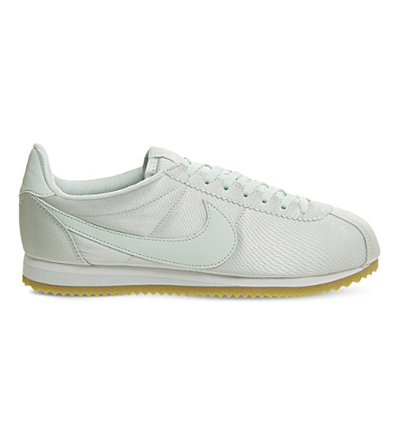 NIKE Cortez satin trainers (Fibreglass+satin+qs