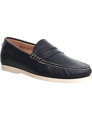 RALPH LAUREN Bjorn leather penny loafers
