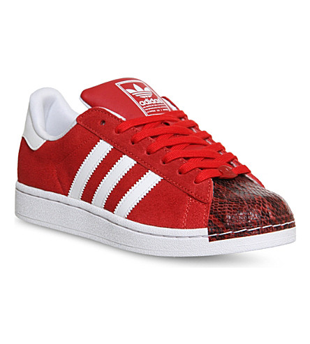 ADIDAS Adidas superstar 2 trainers (Pow red white