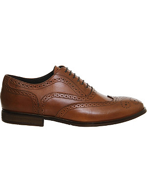 ASK THE MISSUS Brooklyn leather brogues