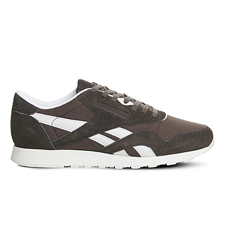 REEBOK Classic Nylon suede trainers