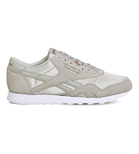 REEBOK CI Nylon trainers (Sandstone+rose+gold