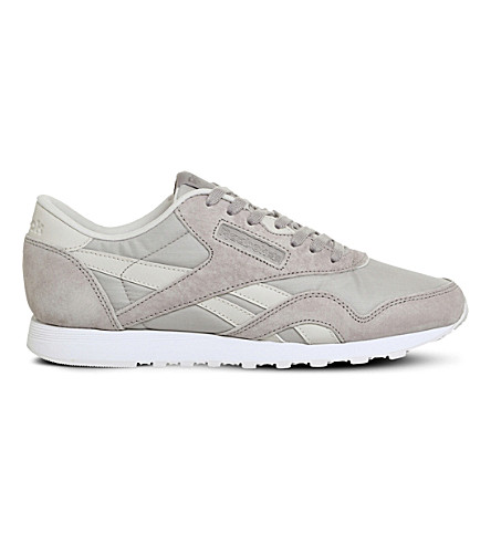 REEBOK Classic Nylon suede trainers (Intuition+x+face