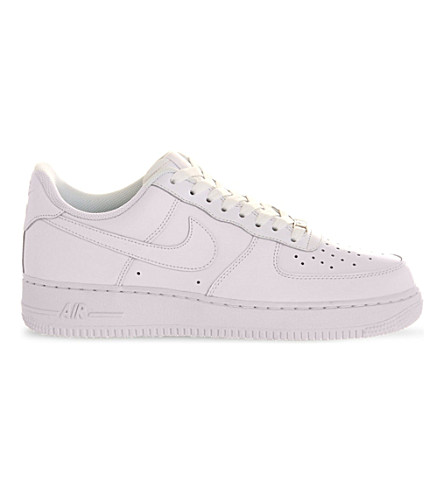 NIKE Air force 1 trainers (White+white
