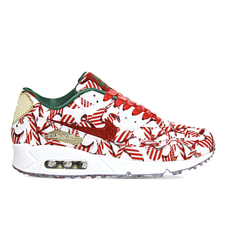 NIKE Air max 90 candy-pattern ultra trainers (Red metallic gold qs