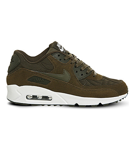 NIKE Air Max 90 trainers (Dark loden ivory